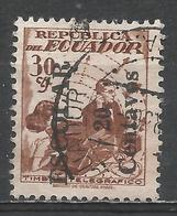 Ecuador 1954. Scott #RA66 (U) Telegraph Stamp ** - Equateur