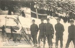 88 - Gérardmer - Grande Semaine Du T.C.F. L'équipe Norvégienne Près Du Tremplin De Saut - Gerardmer