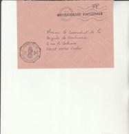 L 3 - Enveloppe Gendarmerie  Des F.F.A. à SPIRE  - Strasbourg - Cachets Militaires A Partir De 1900 (hors Guerres)