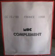MOC - JEU FRANCE MOCLAIR 1998 (Avec Pochettes) - Pré-Imprimés