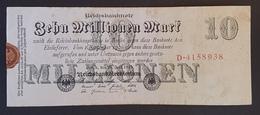EBN8 - Germany 1923 Banknote 10 Millionen Mark P.96 - [ 3] 1918-1933: Weimarrepubliek