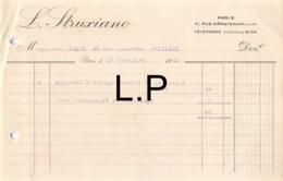 29-0391    1923 L STRUXIANO A PARIS - M. EMARD A POITIERS - France