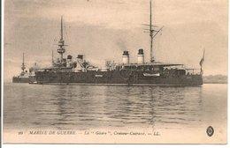 """L200A093 - Marine De Guerre - La """"Gloire"""" - Croiseur Cuirassé - LL N°16 - Guerre"""