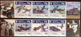 Isle Of Man 2010 Battle Of Britain Aircraft MNH - Isla De Man