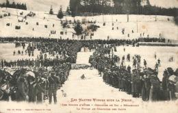 88 - Concours De Ski De Gérardmer - La Foule Au Concours Des Sauts - Gerardmer