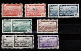 """Algérie - YV PA 1 à 6 Sauf 4A N** + Varietes """"fonces"""" 2a , 3 & 6 (pas Dans Yvert) - Algérie (1924-1962)"""