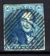 2 Margé  -  Oblitération P 29 De Courtrai - NIPPA + 300 - 1849 Schulterklappen