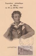 OBLIT. GF ILLUSTRÉE FOIRE AUX VINS MACON MAI 47 - Commemorative Postmarks