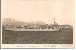 "L200A094 - Contre Torpilleur  - ""Kersaint"" - Marius Bar Phot - Warships"