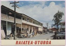 CPM - RAIATEA - UTUROA - 2ème Ville De Polynésie - Edition Chanson Import - Französisch-Polynesien