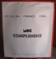 MOC - JEU FRANCE MOCLAIR 1994 (Avec Pochettes) - Pré-Imprimés