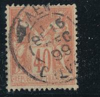 N°94  BEAU CACHET A DATE - 1876-1898 Sage (Type II)