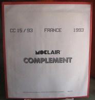 MOC - JEU FRANCE MOCLAIR 1993 (Avec Pochettes) - Pré-Imprimés
