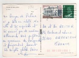 Timbre , Stamp Yvert N° 2191 Sur Cp , Carte , Postcard Du ?? - 1931-Aujourd'hui: II. République - ....Juan Carlos I