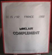 MOC - JEU FRANCE MOCLAIR 1992 (Avec Pochettes) - Pré-Imprimés