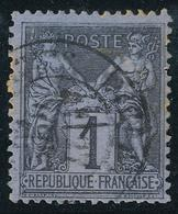 N°83  BEAU CACHET A DATE - 1876-1898 Sage (Tipo II)