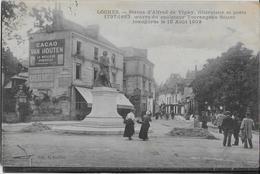 Loches - Statue Alfred De Vigny - Loches