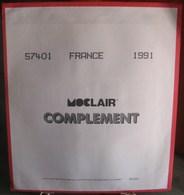 MOC - JEU FRANCE MOCLAIR 1991 (Avec Pochettes) - Pré-Imprimés