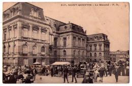 4052 - Saint-Quentin ( 02 ) - Le Marché - N°61(1) - - Saint Quentin