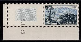 Algérie - YV 331 N** Petit Coin Daté Grande Kabylie - Algérie (1924-1962)