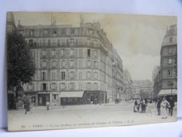 CPA (75) Paris - 75017 - La Rue Jouffroy Au Carrefour De L'avenue De Villiers - Distretto: 17