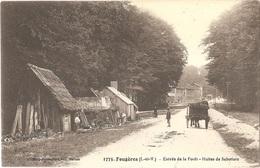Dépt 35 - FOUGÈRES - Entrée De La Forêt - Huttes De Sabotiers - Mary-Rousselière, édit. N° 1775 - Fougeres
