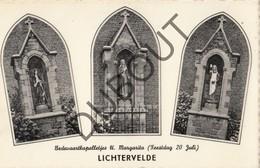 Postkaart - Carte Postale LICHTERVELDE Bedevaartskapelletjes H. Margarita - Feestdag 20 Juli (L158) - Lichtervelde