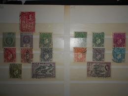 Nigeria , Lot De 16 Timbres Obliteres - Nigeria (...-1960)