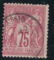 N°71 NUANCE ET OBLITERATION. - 1876-1878 Sage (Type I)