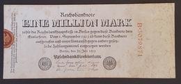 EBN8 - Germany 1923 Banknote 10 Millionen Mark Pick 106a #WB-4 109177 - [ 3] 1918-1933: Weimarrepubliek