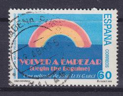 Spain 1995 Mi. 3196     60 Pta Spanischer Fil Movie 'Volver A Empazar' Filmplakat - 1931-Heute: 2. Rep. - ... Juan Carlos I