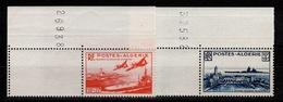 Algerie - YV 273 & 274 N** BdF Oeuvres Sociales De La Marine Cote 20+ Euros - Algérie (1924-1962)