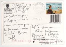 Timbre , Stamp Sur Cp , Carte , Postcard Du 22/06/2010 Pour La France - 2001-10 Storia Postale
