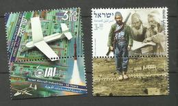 Israël N°1657, 1658 Neufs** Cote 6 Euros - Israel