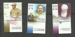 Israël N°1659 à 1661 Neufs** Cote 6 Euros - Israel