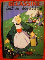 BECASSINE  FAIT DU SCOUTISME   -  1949 -  J.P.PINCHON  - - Bécassine