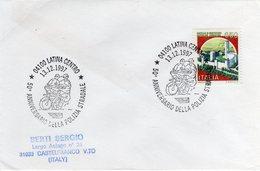 Italia 1997 Annullo Latina 50° Anniversario Della Polizia Stradale - Polizia – Gendarmeria