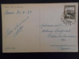 Vatican , Carte De 1933 Pour Trans En Provence - Lettres & Documents