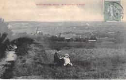 27 - SAINT MARCEL : Au Repos Dans La Plaine - CPA - Eure - Francia