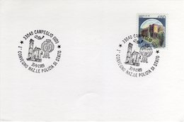Italia 1989 Annullo Campeglio Convegno Nazionale Della Polizia Di Stato - Polizia – Gendarmeria