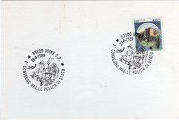 Italia 1989 Annullo Udine Convegno Nazionale Della Polizia Di Stato - Polizia – Gendarmeria