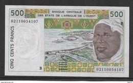 Bénin - 500 Francs 2002 - Pick N°210Ba - Neuf - Bénin