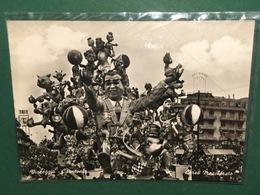 Cartolina Viareggio - Carnevale  - Corso Mascherato - 1952 - Cartoline