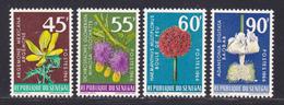 SENEGAL N°  280 à 283 ** MNH Neufs Sans Charnière, TB (D8464) Fleurs Divreses -1966 - Senegal (1960-...)