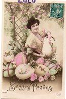 FEMMES 730 : Bonne Pâques ; édit. Circe 4532 - Femmes