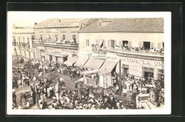 AK Tampico, Centenario 1923, Jahrhundertfeier 1923 Am Hotel Victoria - Mexique