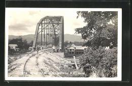 AK Ulua, Railway Bridge, National R.R. Hond. - Ansichtskarten