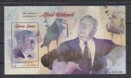 T95. Sierra Leone - MNH - 2015 - Famous People - Alfred Hitchcock - Bl - Célébrités