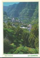 Espagne Islas Canarias Hermigua Exuberante  Naturaleza En El Valle  Petit Village - Espagne