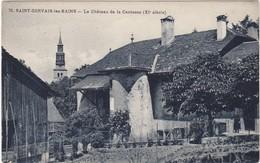 Château De La CAUTESSE à ST-GERVAIS-les-BAINS   (XIe Siècle ) - Saint-Gervais-les-Bains